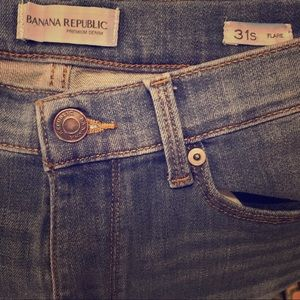 Banana Republic Flare Jeans Size 31s